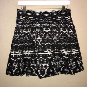 J. Crew Blurred Ikat Skirt